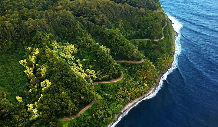 The Road to Hana Maui Road Trip Route