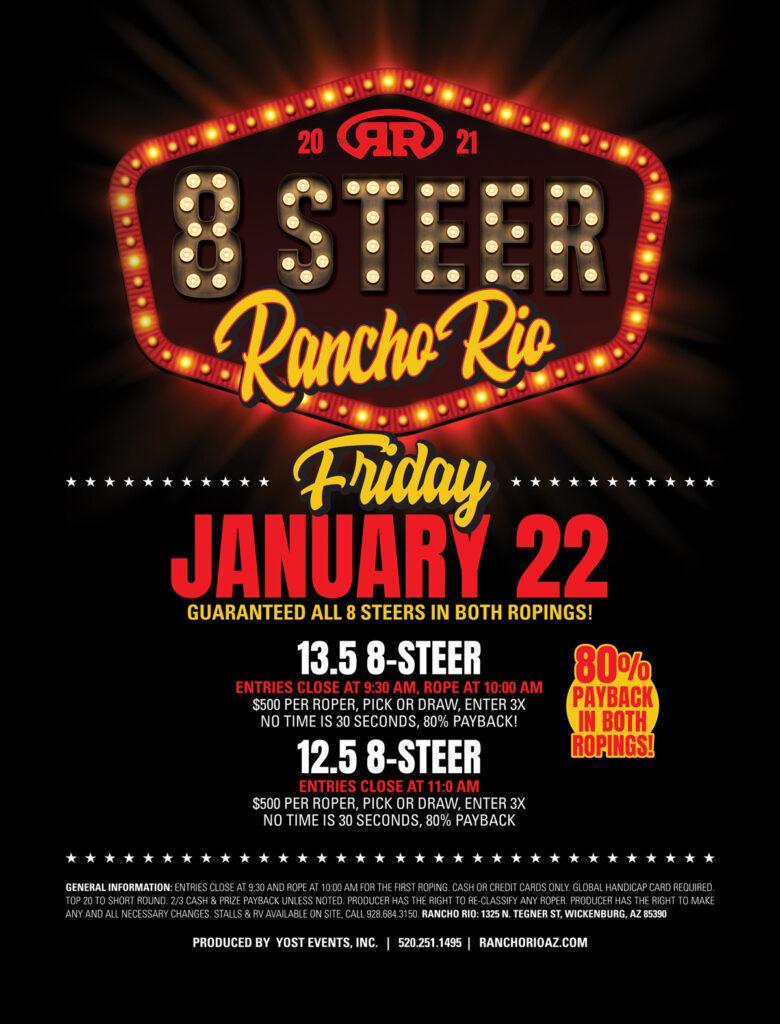 Rancho Rio 8-Steer