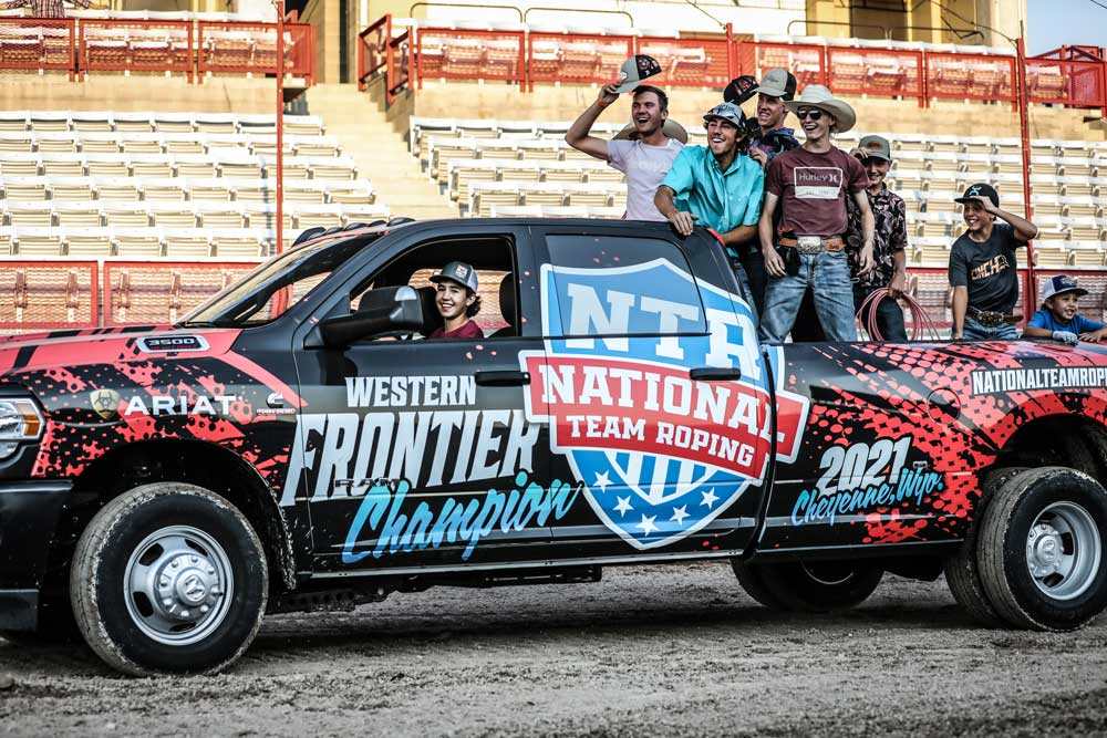NTR Truck Wrap
