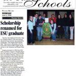 Pocono Record Scholarship Highlight