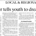 Evansville Newspaper Speaker Spotlight