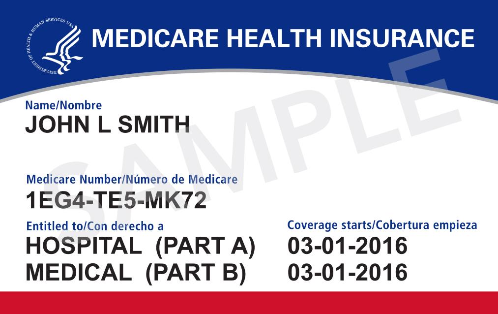 Medicare card