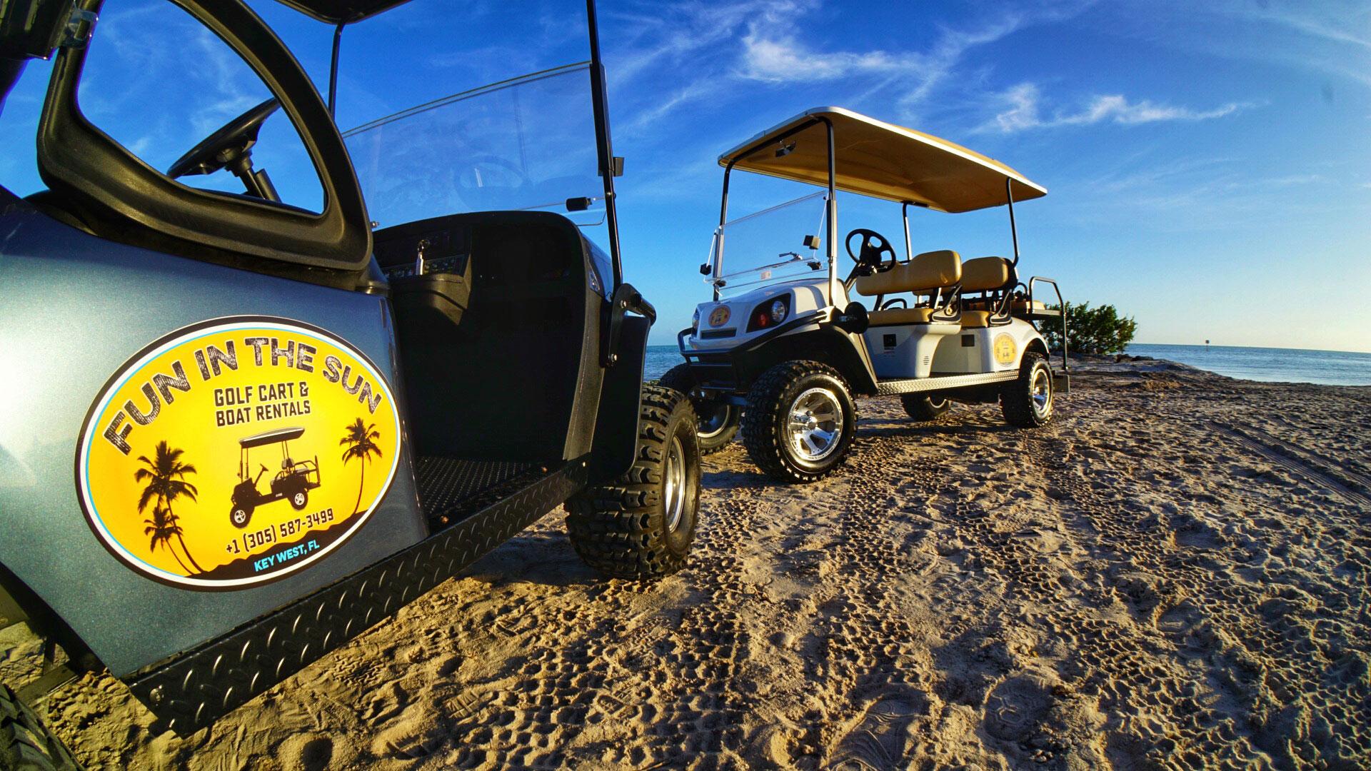 EZ GO Golf Carts in Key West