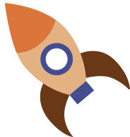 Toy Rocket Illustration