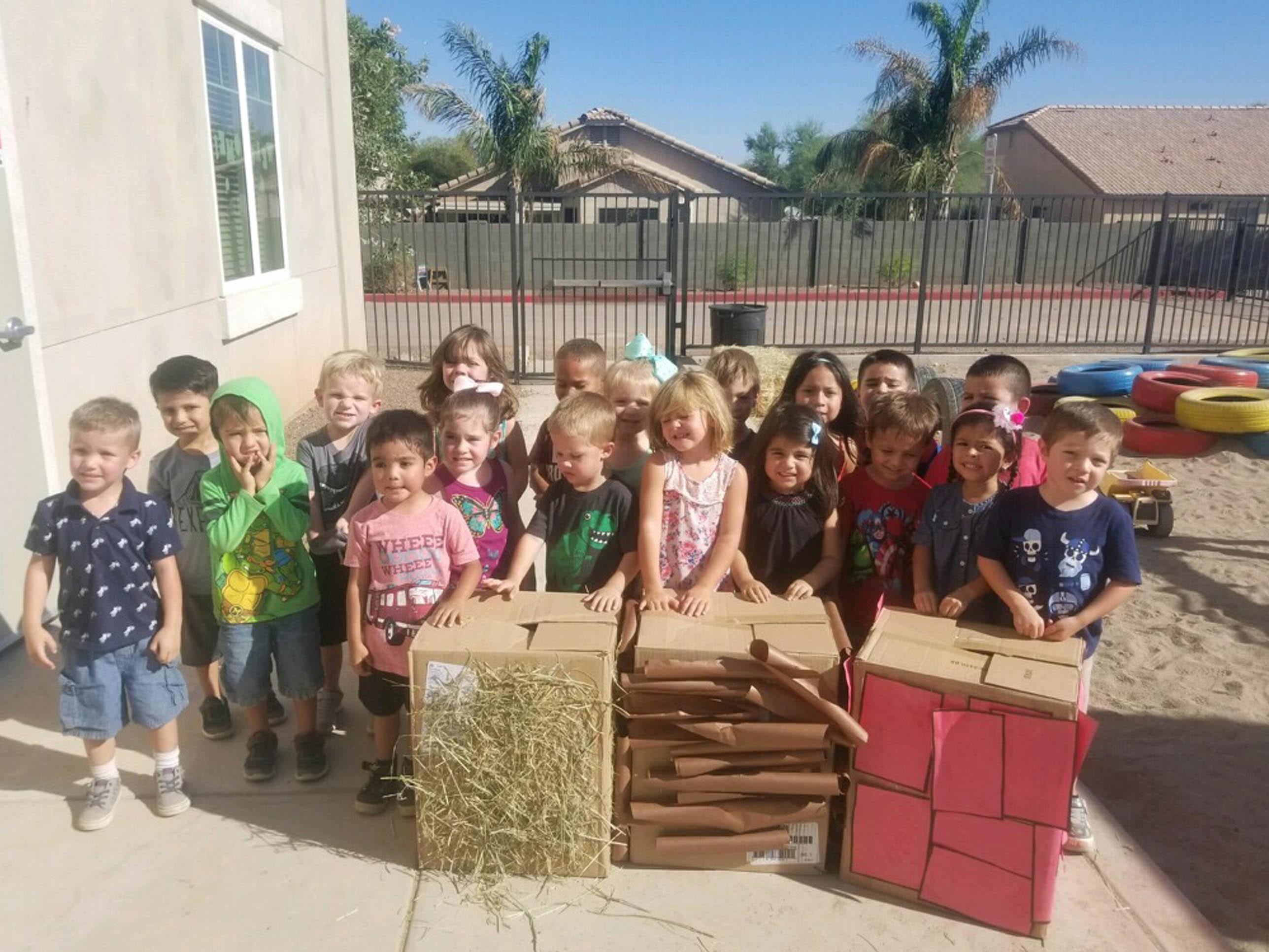 Classroom Photo of Preschool Life