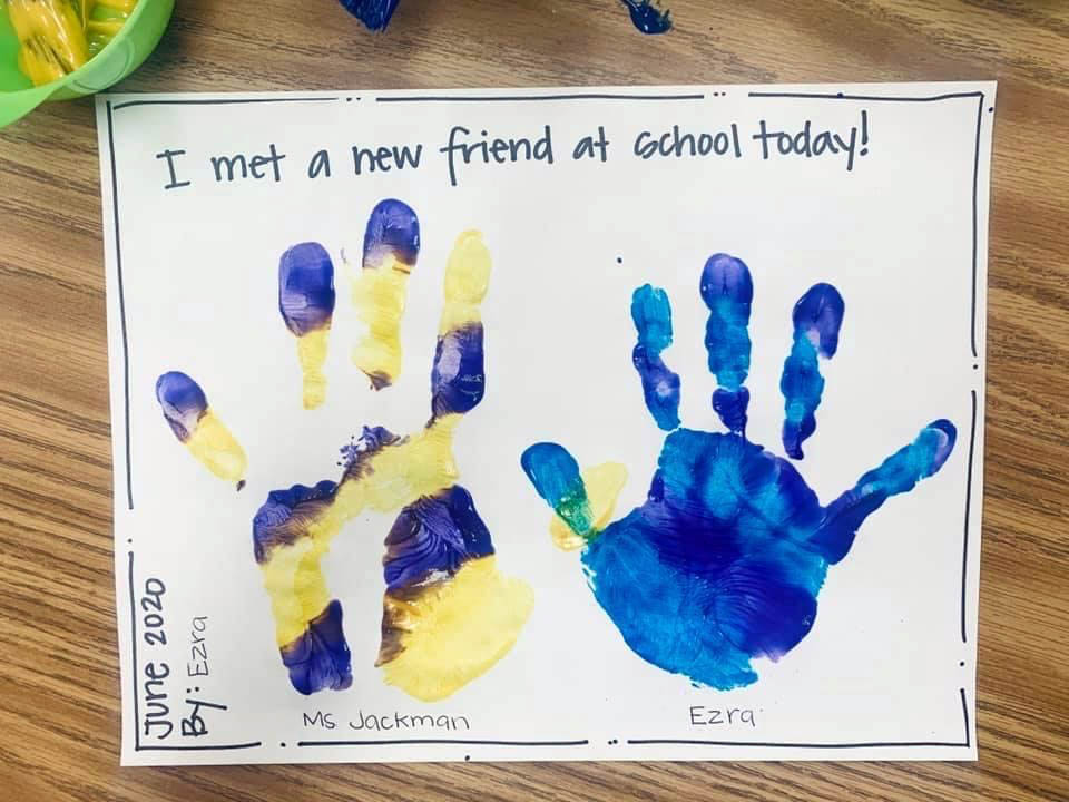 Preschool artwork