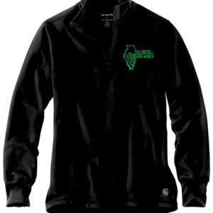 Illinois Agri Women Carhartt Men's 1/4 zip