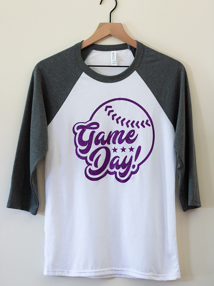 Dixon Game Day Glitter T-Shirt