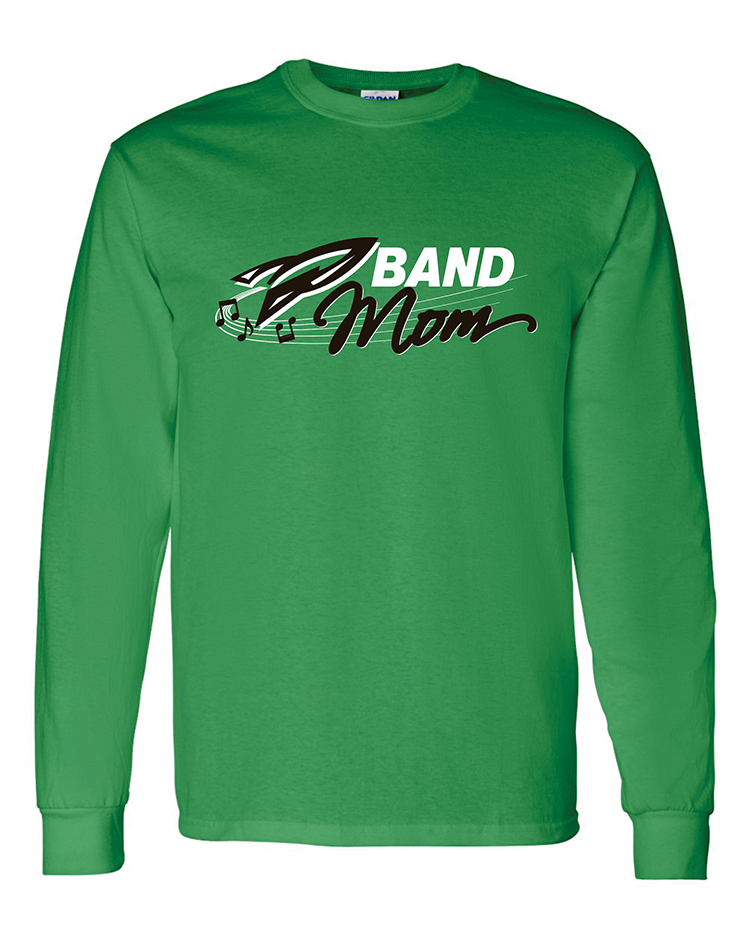 Rock Falls Music Long Sleeve Mom T-Shirt