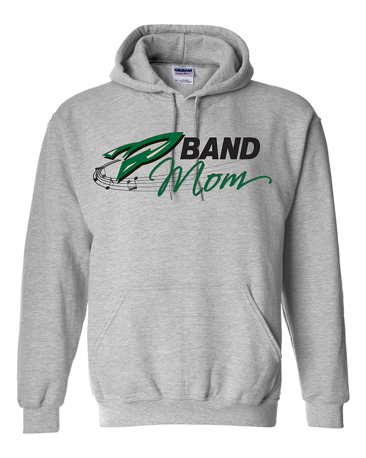 Rock Falls Music Mom Hoodie