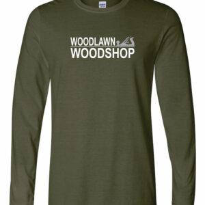 Woodlawn Woodshop Long Sleeve T-Shirt