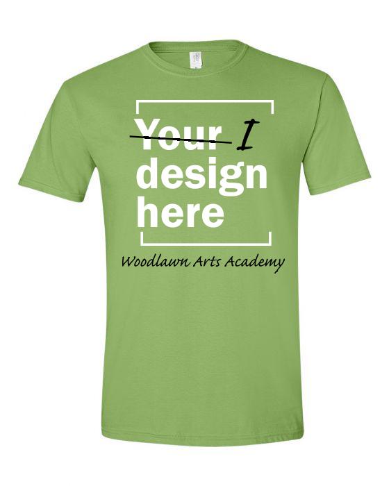 Woodlawn Arts I Design T-Shirt