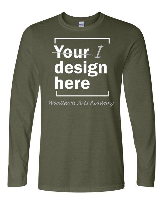Woodlawn Arts I Design LS T-Shirt