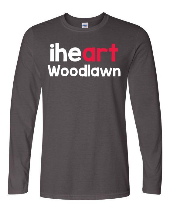 Woodlawn Arts I Heart LS T-Shirt