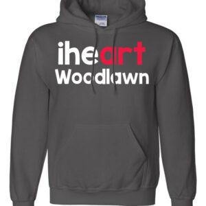 Woodlawn Arts I Heart Hoodie