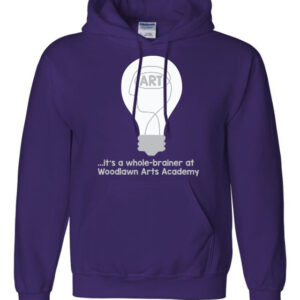 Woodlawn Arts Whole-Brainer Hoodie