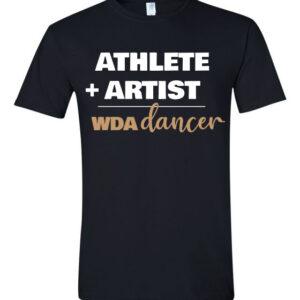 Woodlawn Dance Athlete Artist T-Shirt
