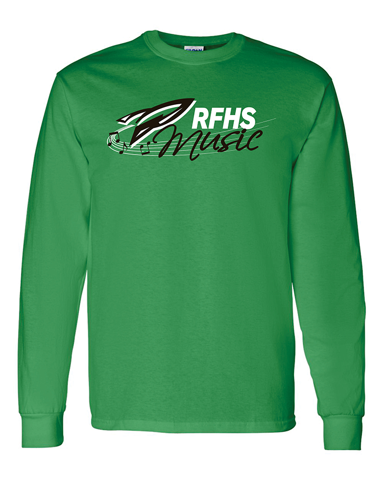 Rock Falls Music Long Sleeve T-Shirt