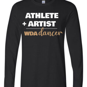 Woodlawn Dance Athlete Artist LS T-Shirt
