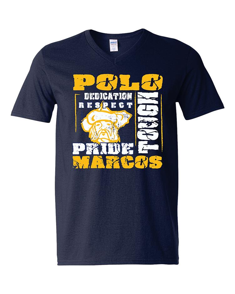 Polo School Softstyle V-Neck T-Shirt