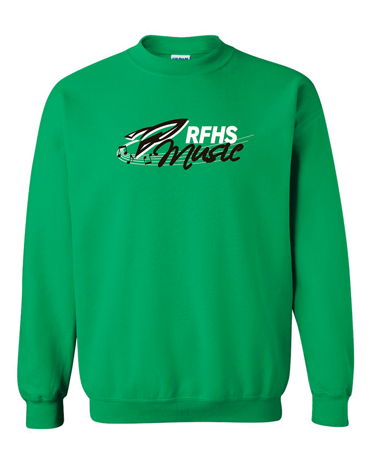 Rock Falls Music Crewneck