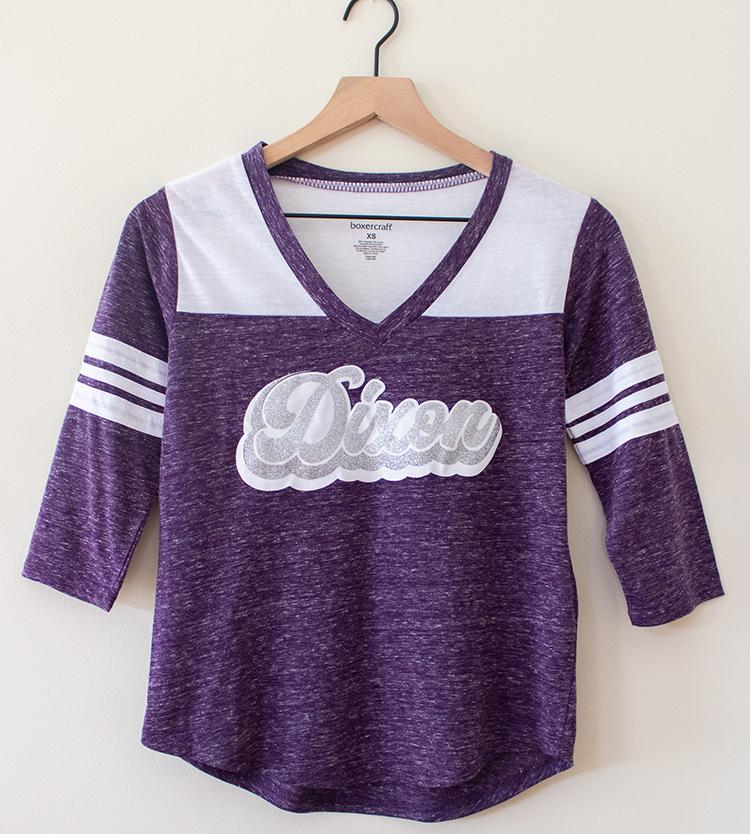 Dixon Football Vintage LS T-Shirt