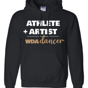 Woodlawn Dance Athlete Artist Hoodie
