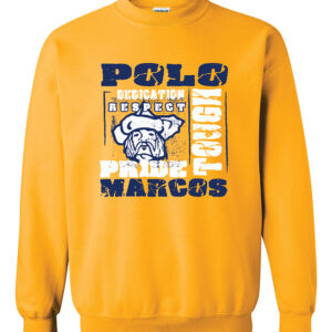 Polo School Heavy Blend Crewneck Sweatshirt