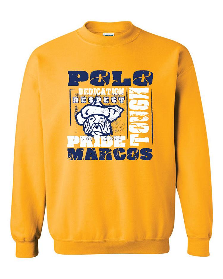 Polo School Heavy Blend Crewneck Sweatshirt