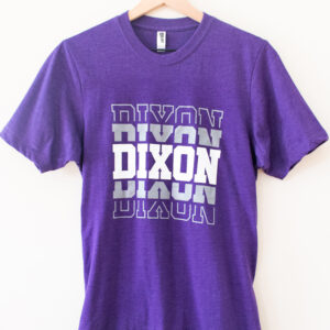 Dixon Purple T-Shirt