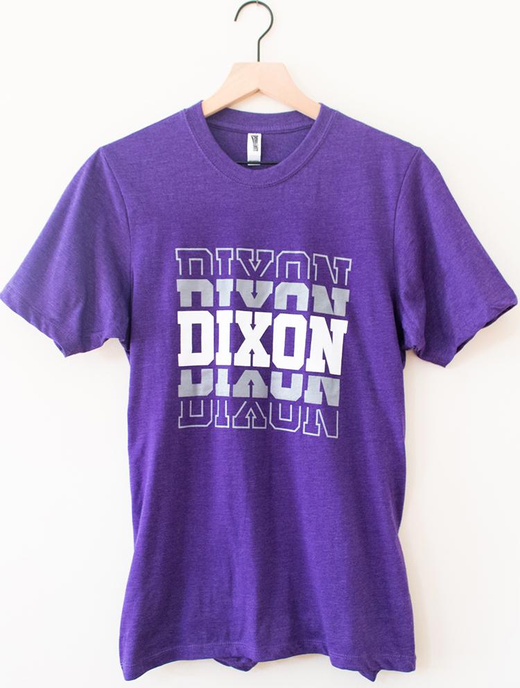 Dixon Purple T-Shirt