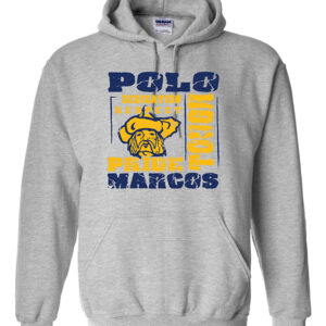 Polo School Heavy Blend Hooded Sweatshirt