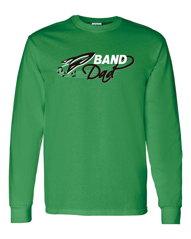 Rock Falls Music Long Sleeve Dad T-Shirt