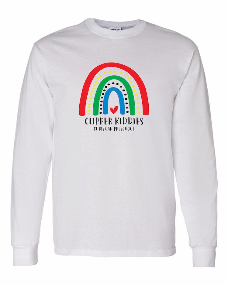 Amboy Clipper Kiddies Rainbow LS T-Shirt