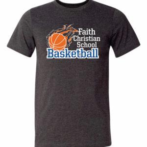Faith Christian Basketball T-Shirt