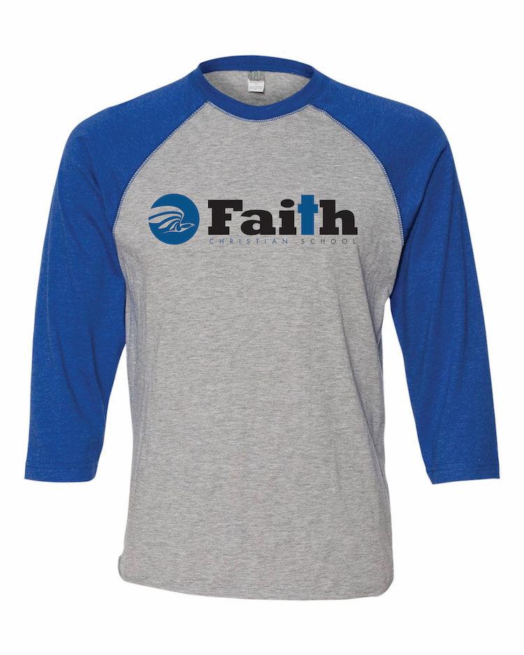 Faith Christian Baseball T-Shirt
