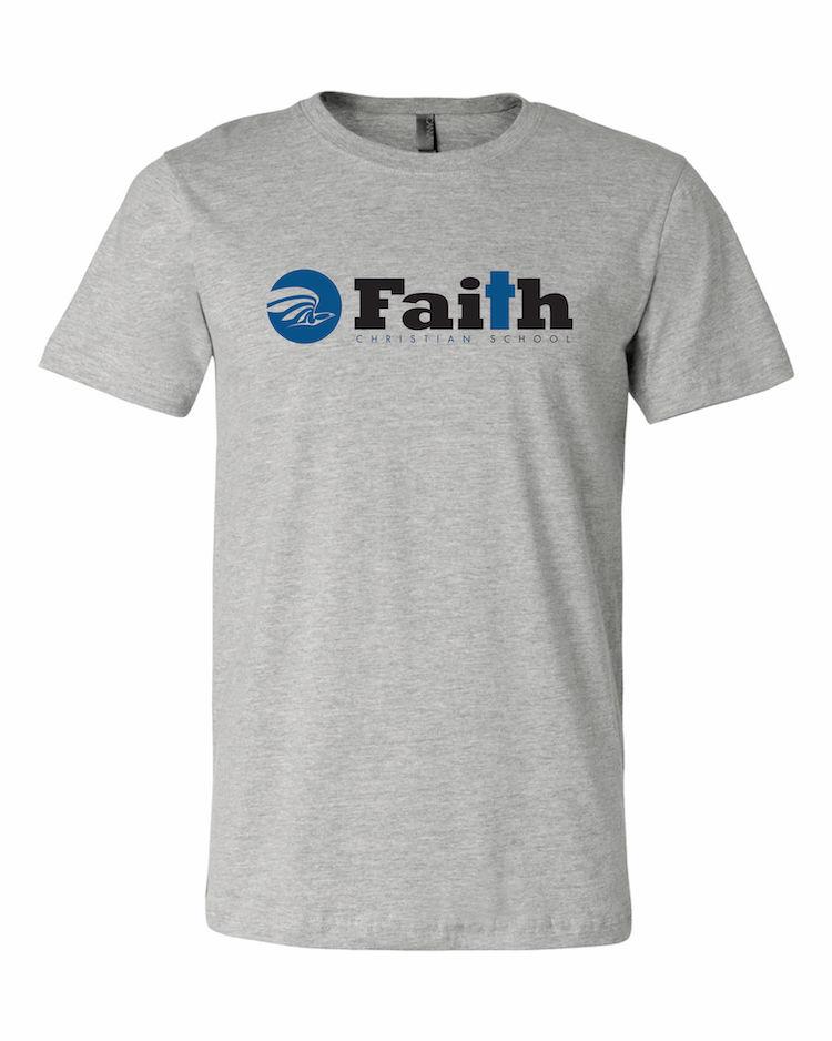 Faith Christian Athletic Heather T-Shirt