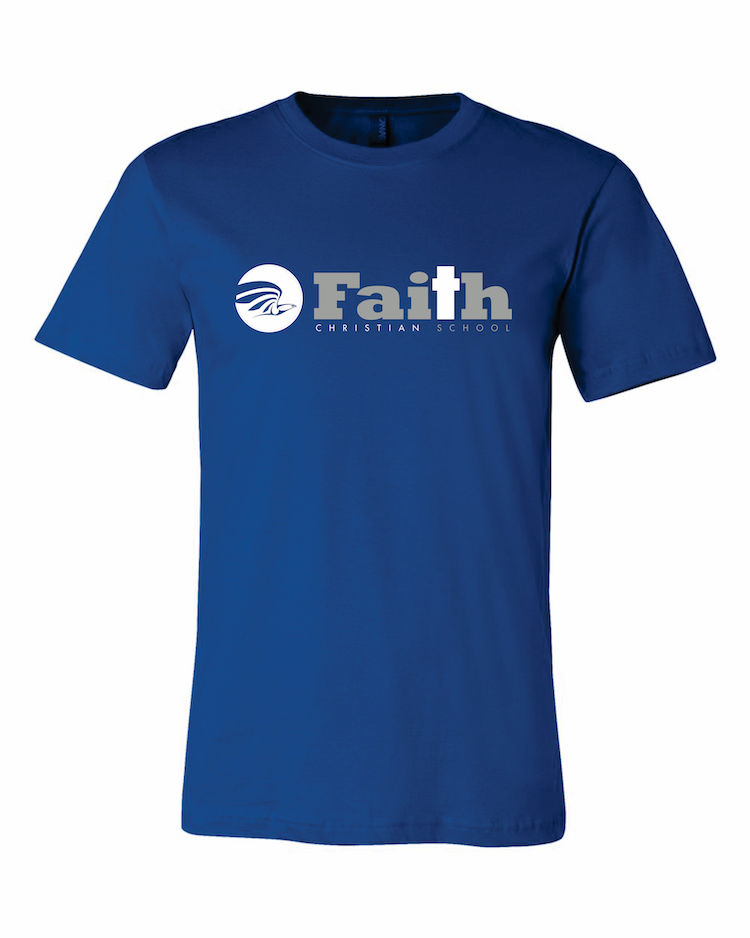 Faith Christian Royal Blue T-Shirt