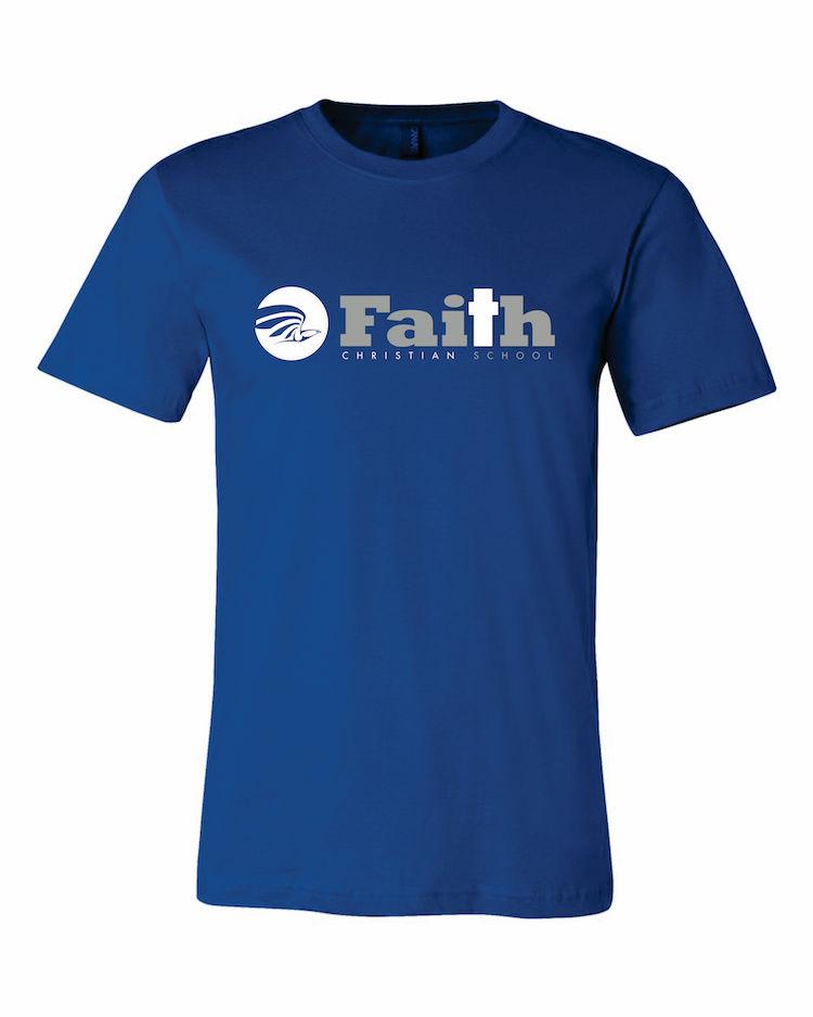 Faith Christian Royal Blue T-Shirt