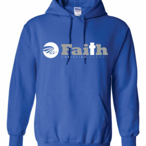 Faith Christian Royal Blue Hoodie