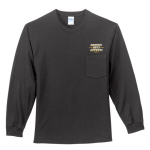 Graphic Arts Pocket Long Sleeve T-Shirt