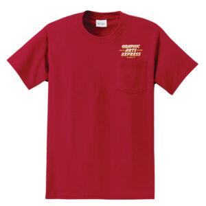 Graphic Arts Pocket T-Shirt