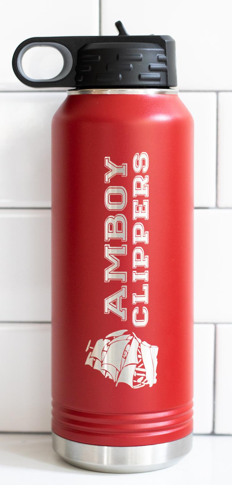 Amboy Clippers Polar Camel Water Bottle