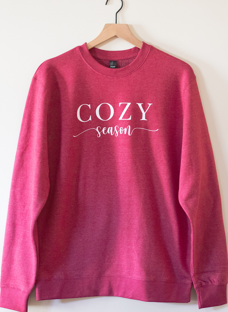 Cozy Season Fleece Crewneck
