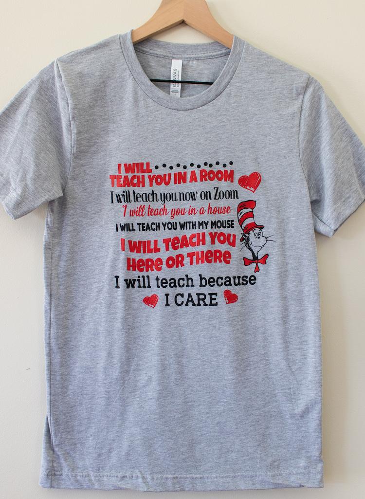 I Will Teach t-shirt