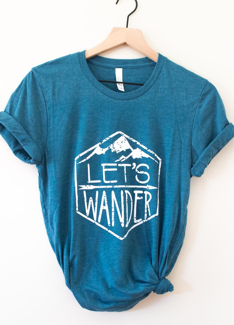 Let's Wander T-Shirt