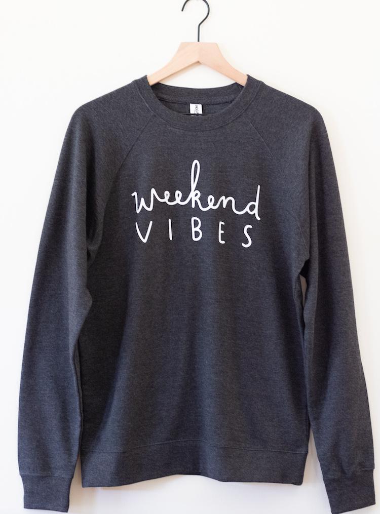 Weekend Vibes Crewneck