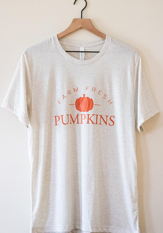 Farm Fresh Pumpkins T-Shirt