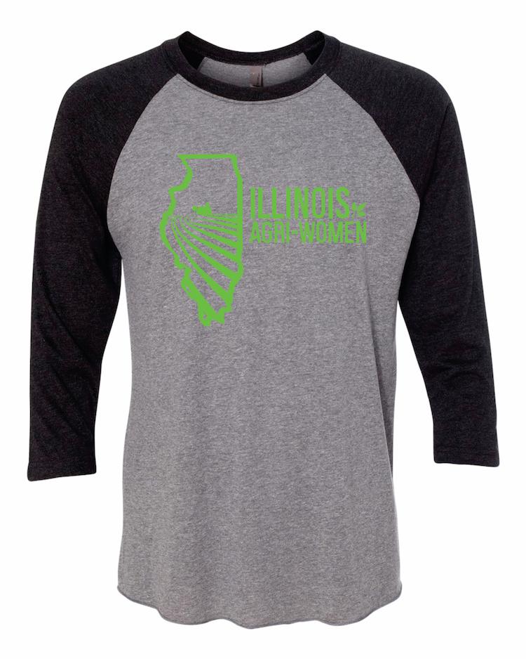 Illinois Agri Baseball T-Shirt