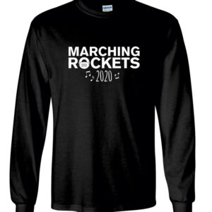 Rock Falls Marching Coronavirus LS T-Shirt